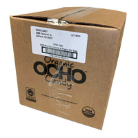 OCHO Organic Candy Bar - Caramel & Peanut case