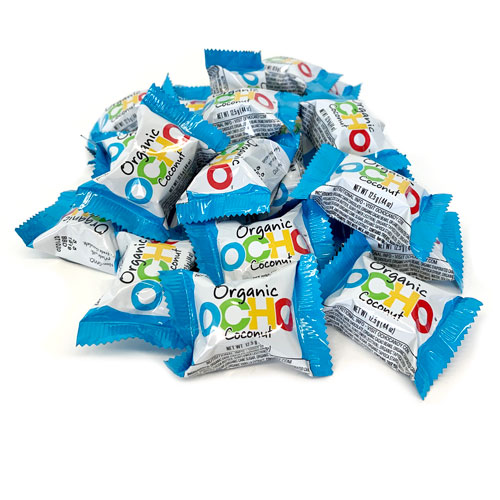 Mini OCHO Organic Candy Bars - Coconut