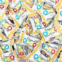 Mini OCHO Organic Peanut Butter Eggs