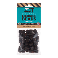 Organic Licorice Beads * 2.5 OZ