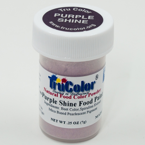 Purple Shine Natural Food Paint