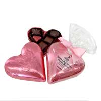 Vegan Dark Chocolate Heart Filled with Chocolates