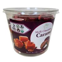 Vegan Melk Chocolate Caramel Bites