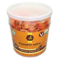 Sjaak's Vegan Milk Chocolate Pumpkin Spice Bites