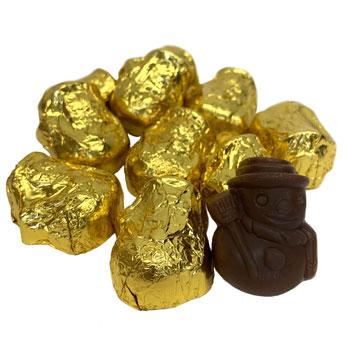 Sjaak's Dark Chocolate Peanut Butter Crunch Snowmeeple Bites