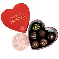 Vegan Classic Heart Valentine Truffles Assortment
