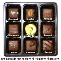 Vegan Dark Chocolate Nuts & Chews * GIFT BOX