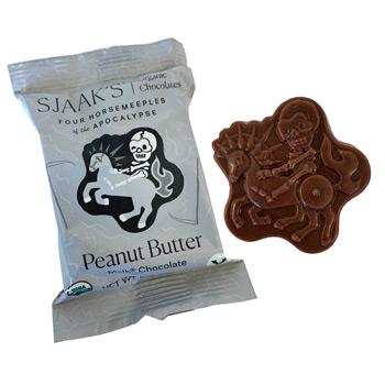Vegan Melk Chocolate Horsemeeple Bites - Peanut Butter * 4 PK