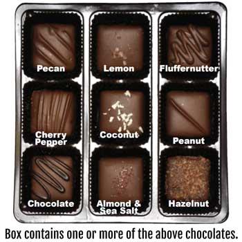"""Vegan """"Milk"""" Chocolate Nuts & Chews  * GIFT BOX"""