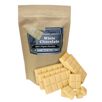 Vegan Organic White Chocolate Bag