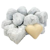 Sjaak's Organic Vegan White Chocolate Hearts