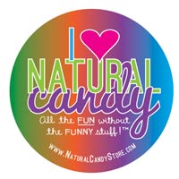Sticker - I Love Natural Candy