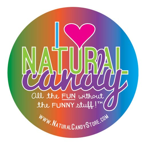 Sticker - I Love Natural Candy