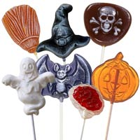 The Delux Halloween Pack Lollipops