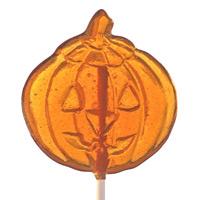 Jack-o-Lantern Lollipop