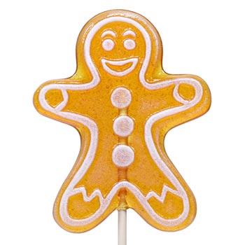 Maple Spice Gingerbread Man Lollipop