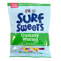 Surf Sweets Natural Gummy Worms