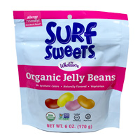 Surf Sweets Organic Jelly Beans - 6 OZ