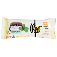 Theo Coconut Bite MILK Chocolate Mint