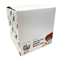 Theo Organic and Fair Trade Peanut Butter Cups  MILK Chocolate