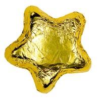 Thompson Milk Chocolate Stars - Gold