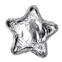 Thompson Milk Chocolate Stars - Silver