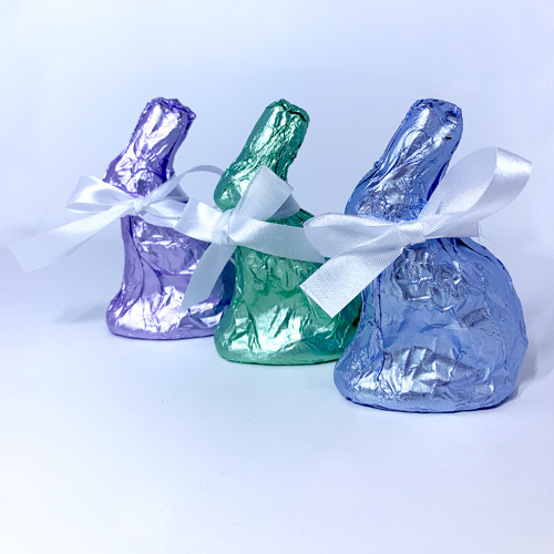 Sitting Bunny - Milk Chocolate in Colored Foil