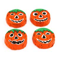 Thompson Crispy Milk Chocolate Jack-O'-Lanterns