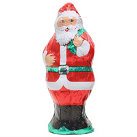 Hollow Milk Chocolate Santa