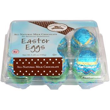 Jumbo Milk Easter Chocolate Eggs * 1/2 DOZEN