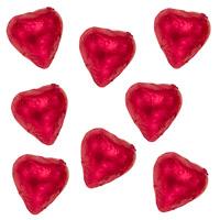 Thompson Milk Chocolate Hearts - Red