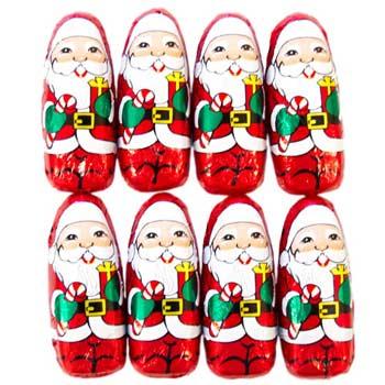 Thompson Mini Milk Chocolate Santas