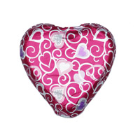Thompson Solid Milk Chocolate Heart in Foil