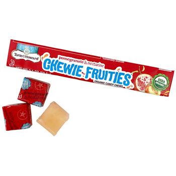Torie & Howard Chewie Fruities - Pomegranate & Nectarine * Stick