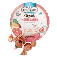 Torie & Howard Hard Candy - Grapefruit & Honey * Tin
