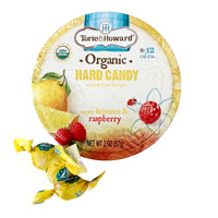 Torie & Howard Hard Candy - Lemon & Raspberry * Tin