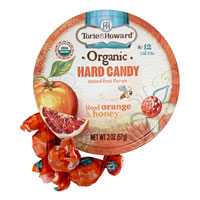 Torie & Howard Hard Candy - Blood Orange & Honey * Tin