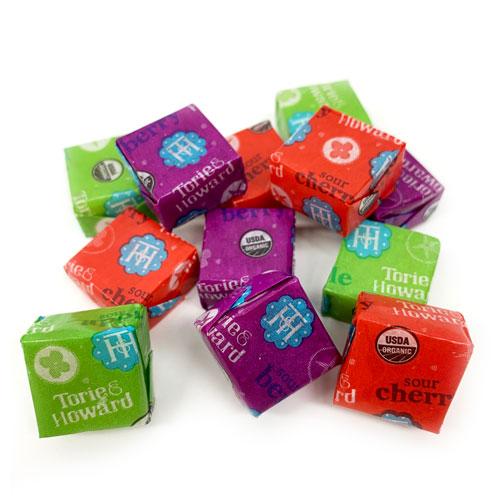 Torie & Howard Sour Chewie Fruities Mix - Assorted Flavors