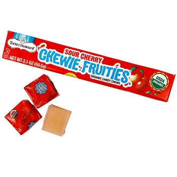 Torie & Howard Sour Chewie Fruities - Sour Cherry * Stick