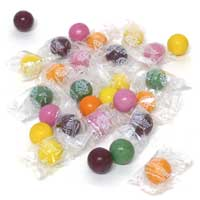 Tree Hugger Individually Wrapped Natural Jumbo Gumballs - Citrus Berry