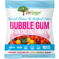 Tree Hugger Natural Bubble Gumballs - Fantastic Fruit