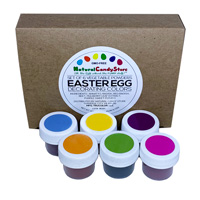 Natural Easter Egg Decorating Colors