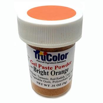 Bright Orange Natural Food Color