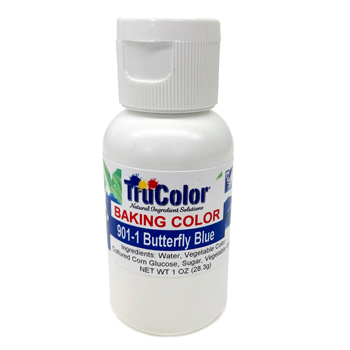 Liquid Baking Food Color - 901  Butterfly Blue