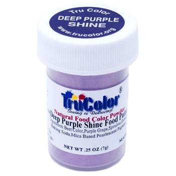 Deep Purple Shine Natural Food Paint
