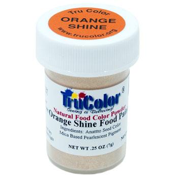 Orange Shine Natural Food Paint