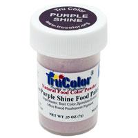 Purple Shine Natural Food Paint