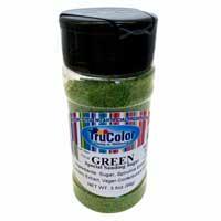 Natural Sanding Sugar - Green * 3.5 OZ