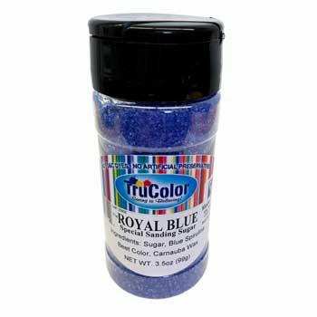 Natural Sanding Sugar - Royal Blue * 3.5 OZ