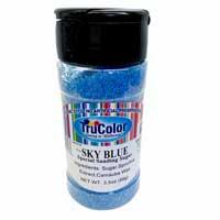 Natural Sanding Sugar - Sky Blue * 3.5 OZ